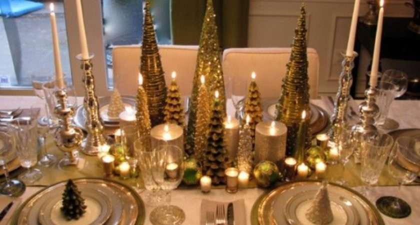 Centerpiece Ideas Christmas Dinner