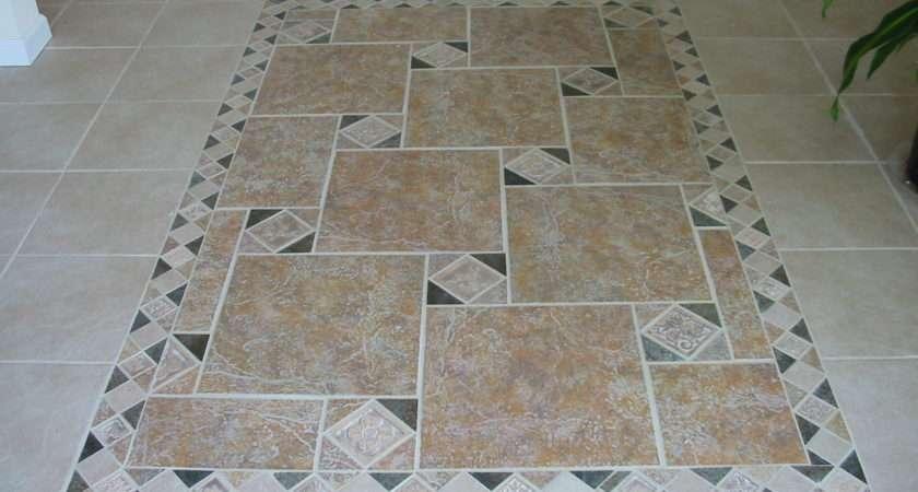 Ceramic Patterns Tile Flooring Ideas Living Room Design Modern