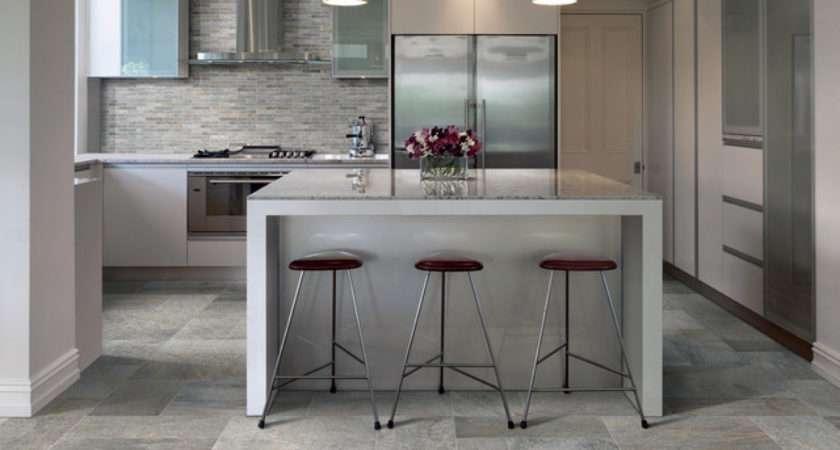 Ceramic Porcelain Tile Ideas Contemporary Kitchen