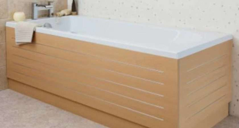 Ceramica Elite Beech Stainless Steel Strip Bath Side Panel