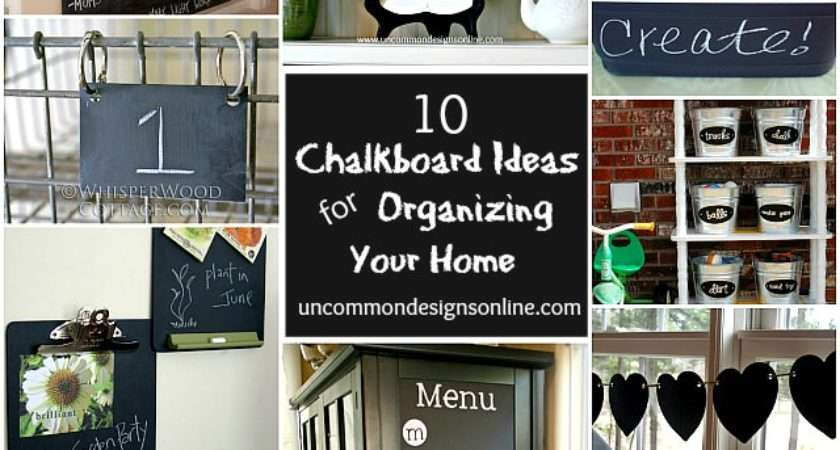 Chalkboard Paint Ideas Organizing Your Home