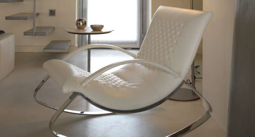 Chandelier Rocking Chair Contemporary Leather Furniture