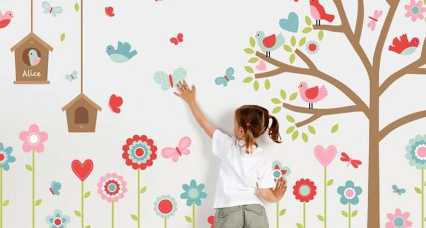 Change Entire Look Room Kids Walls