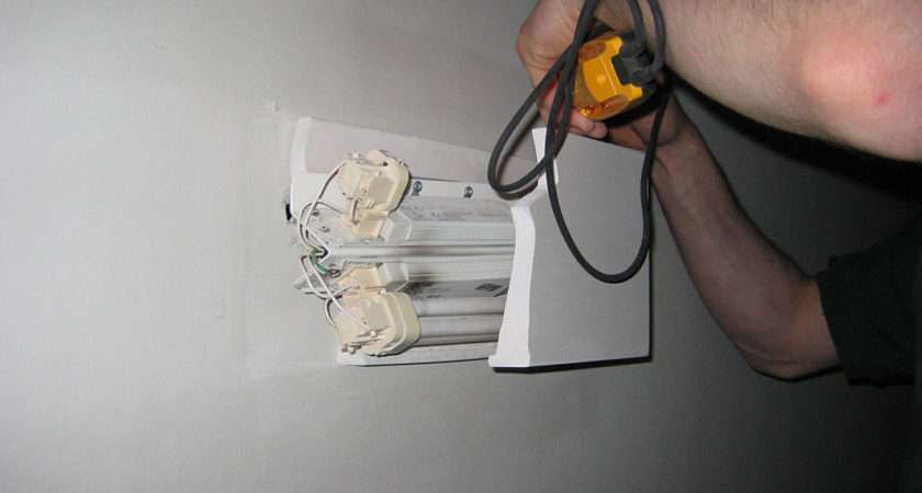 Changing Light Fitting