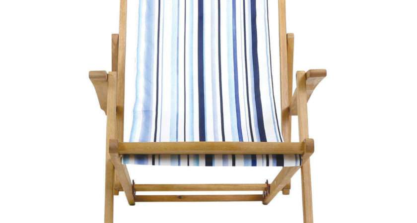 Charles Bentley Coastal Deck Chair Striped Buydirect