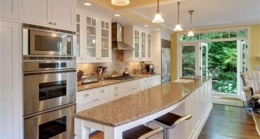 Charming Open Galley Kitchen Island Best Ideas