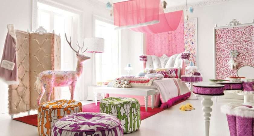 Charming Opulent Pink Girls Room Altamoda Girl Digsdigs
