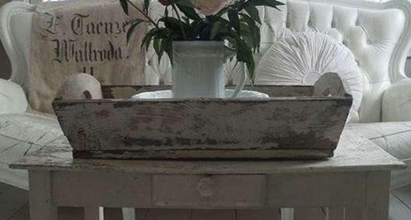 Charming Shabby Chic Living Room Decoration Ideas