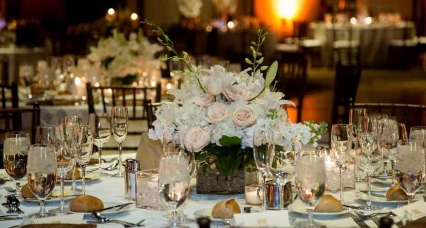 Charming Wedding Table Decoration Various White