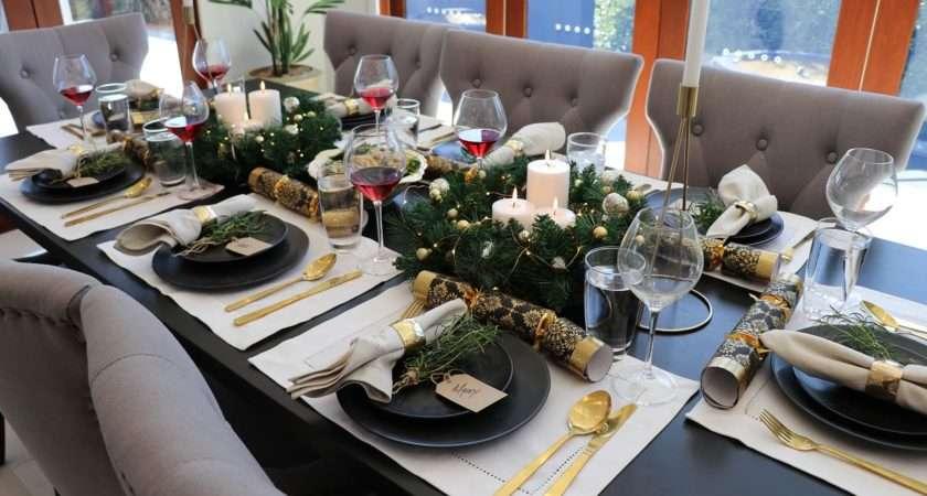 Cheap Christmas Table Setting Ideas Wow Factor