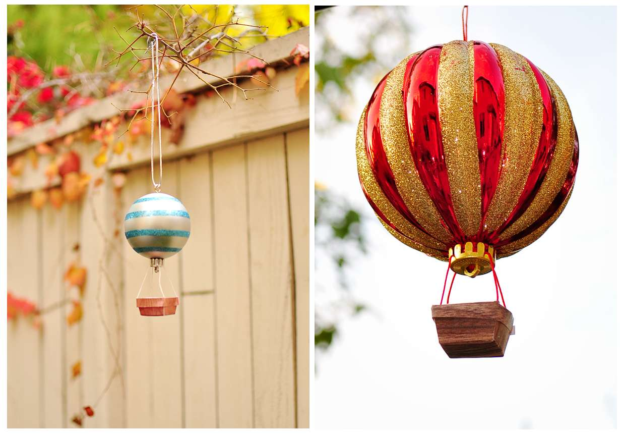Cheese Thief Make Hot Air Balloon Ornament Tutorial