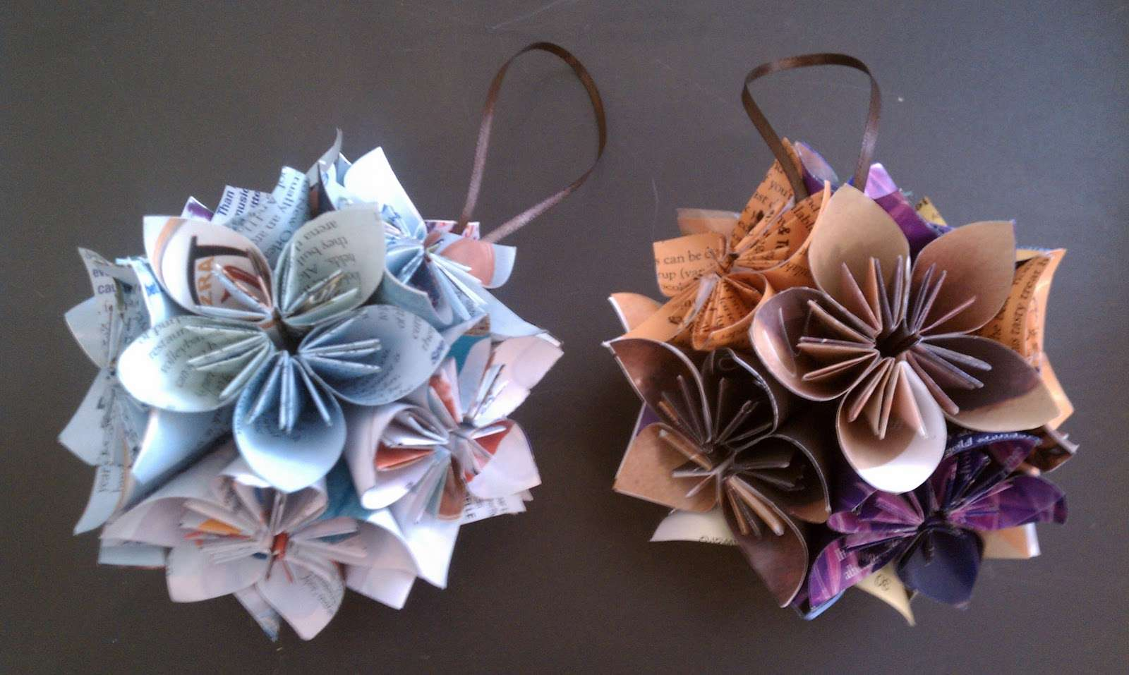 Chet Pourciau Design Origami Christmas Ornaments