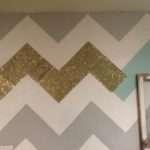 Chevron Wall Redo Classy Clutter