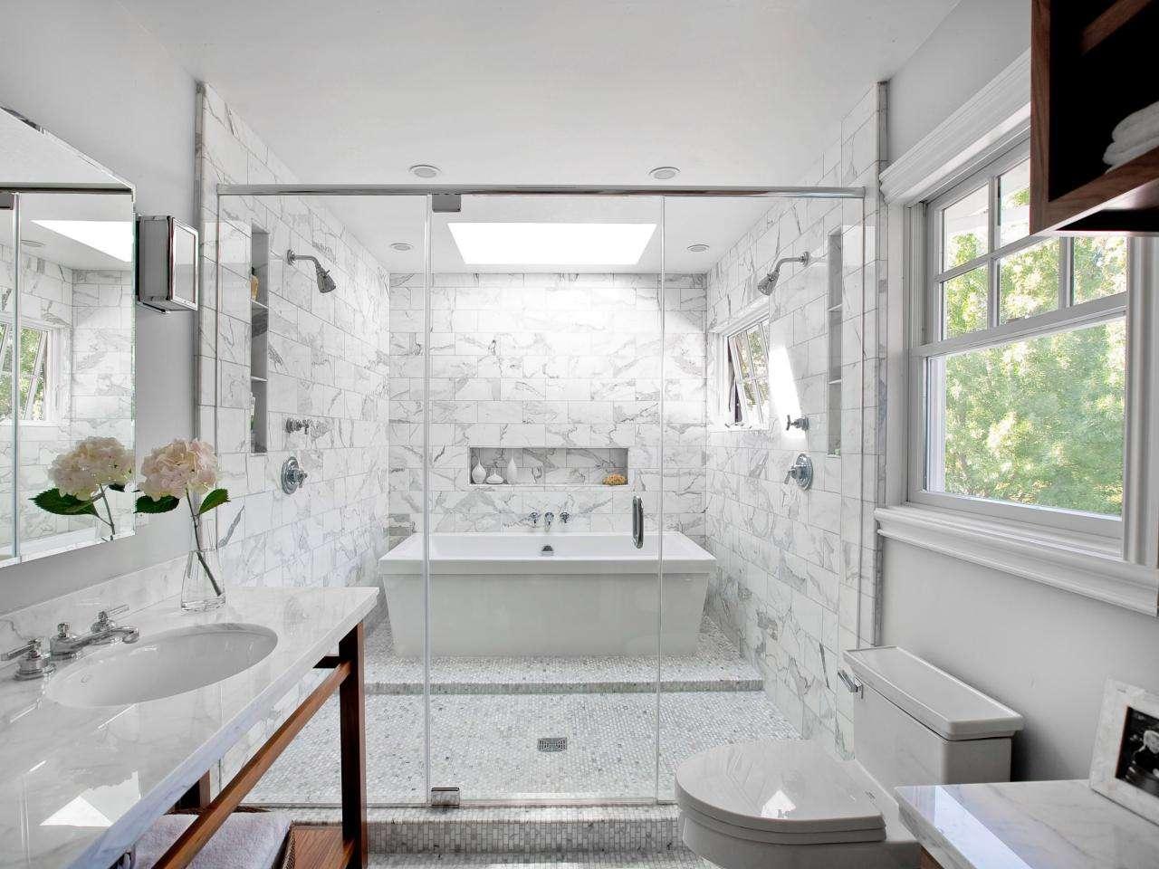 Chic Bathroom Tile Design Ideas Designs Hgtv