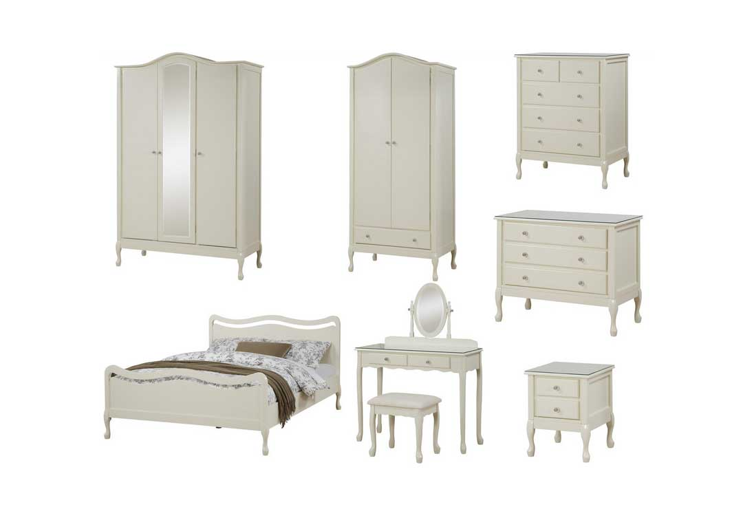 Chic Childrens Bedroom Furniture Sets White