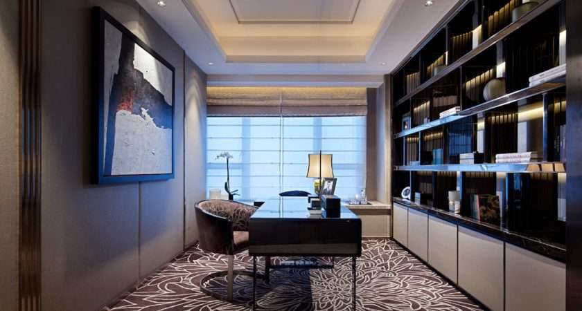 Chic Elegant Home Office Would Inspire Creativity