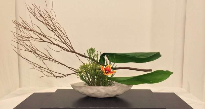 Chic Floral Designs Style Ikebana