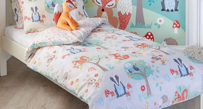 Children Duvet Cover Sets Forest Animals Becky Lolo