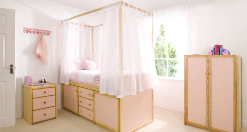 Children Four Poster Bed Cbc