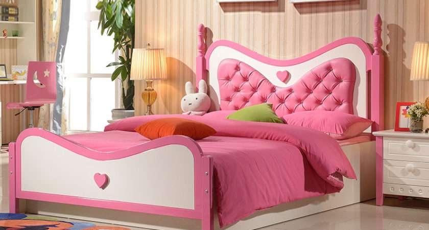 Children Girl Princess Bed Furniture