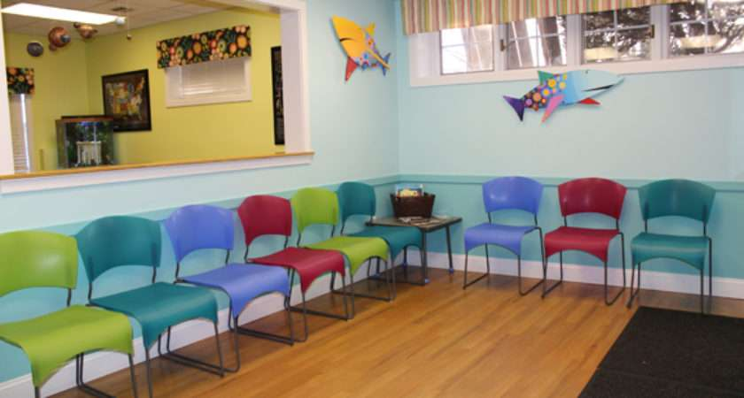 Children Health Care Beautiful Waiting Rooms