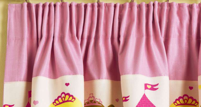 Children Princess Curtains Light Reducing Thermal Tape Top Pencil