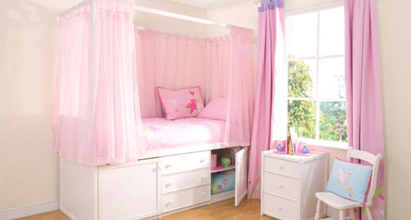 Children White Four Poster Bed Cbc