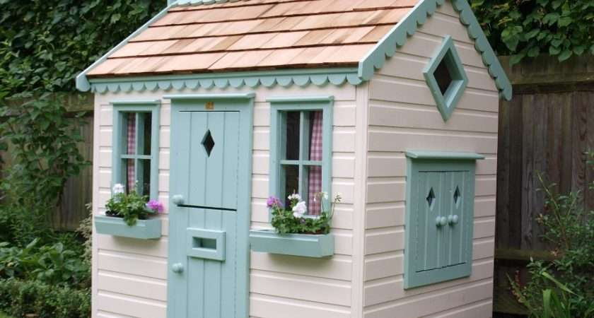 Childrens Cottage Playhouse Playhouses