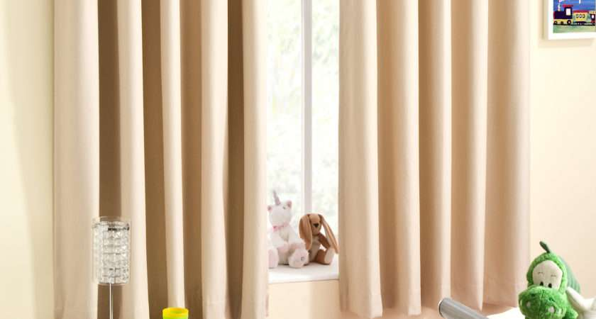 Childrens Gingham Curtain Thermal Blockout Eyelet Ring Top