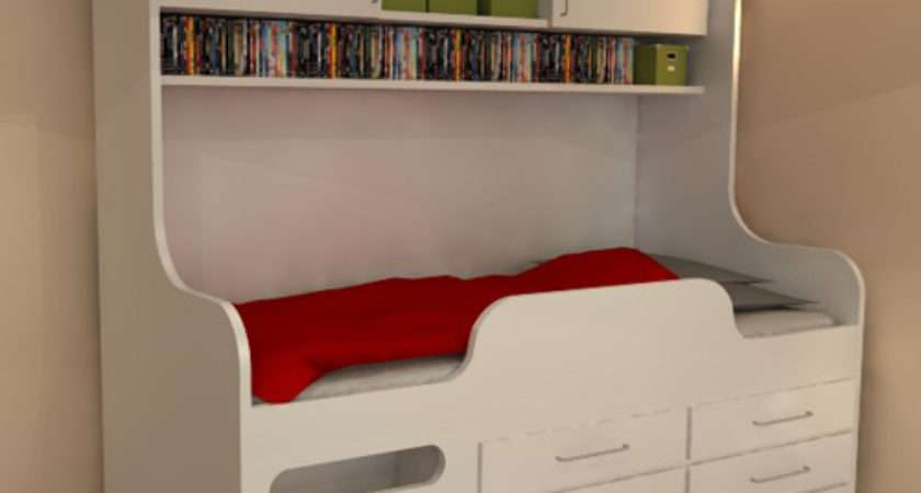 Childrens High Sleeper Storage Bed Perfect Solution