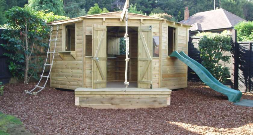 Childrens Playhouses Forts