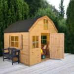 Childrens Wooden Playhouse Dutch Style