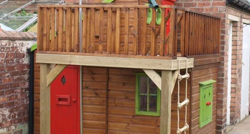 Childrens Wooden Playhouse Playhouses