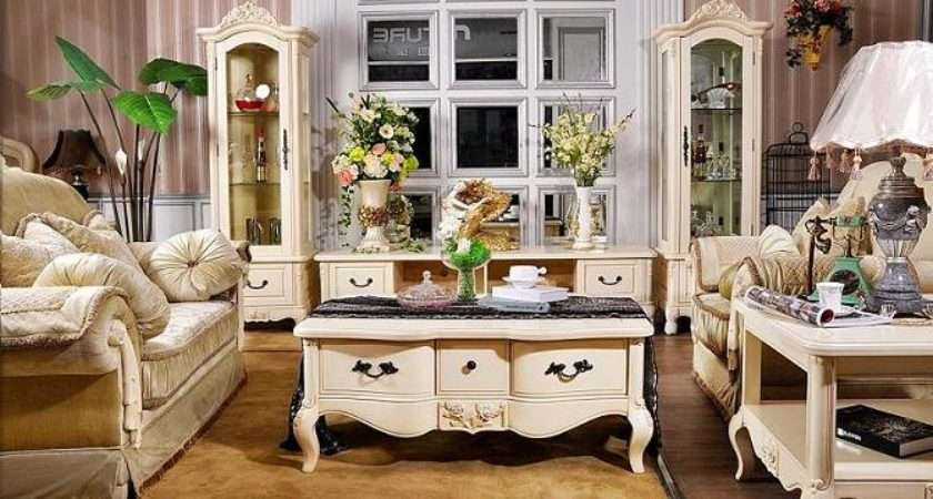 China French Country Style Living Room Furniture