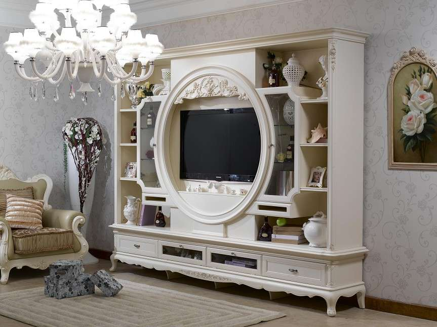 China French Style Living Room Set Furniture Bjh