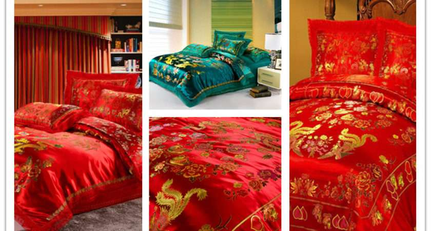 Chinese Bed Sheets Set Asian Style Bedding Cheap