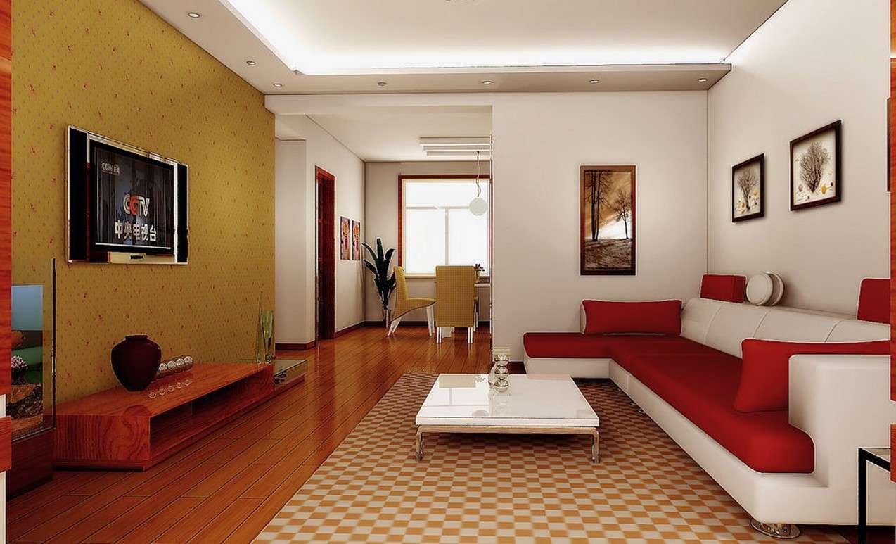 Chinese Modern Minimalist Living Room Interior Design