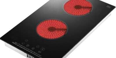 Chinese Supplier Black Vitro Double Built Ceramic Hob Electric