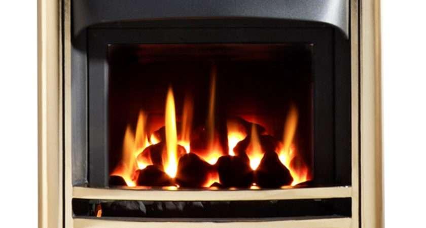 Chiswick Agean Limestone Fireplace Flames