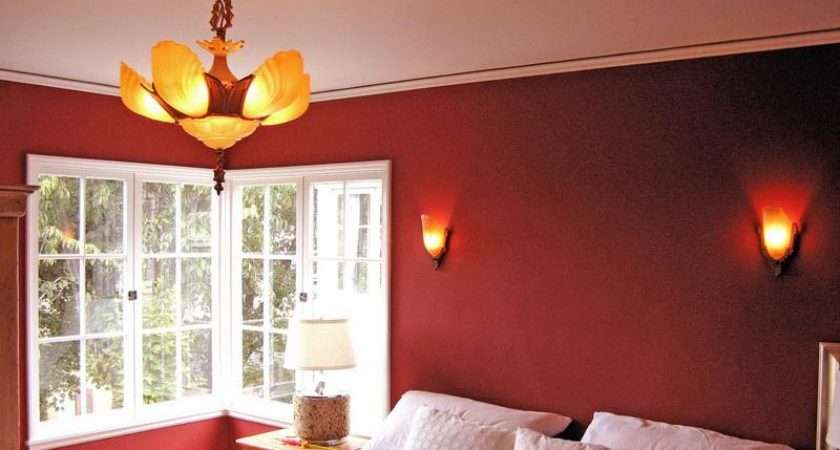 Choose Color Shades Red Interior Home Chic