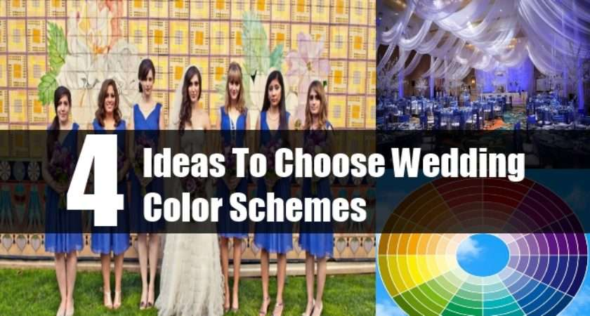 Choose Wedding Color Schemes Tips