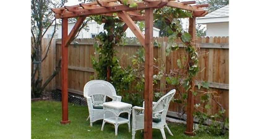 Choosing Styles Garden Pergolas Made Easy Job