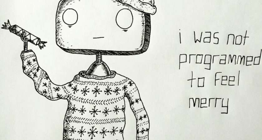 Christmas Card Drawing Ideas Tumblr Happy Holidays