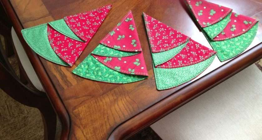 Christmas Craft Paper Sewing Ideas
