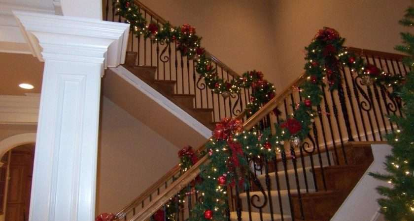 Christmas Deck Halls Beautiful Garland West