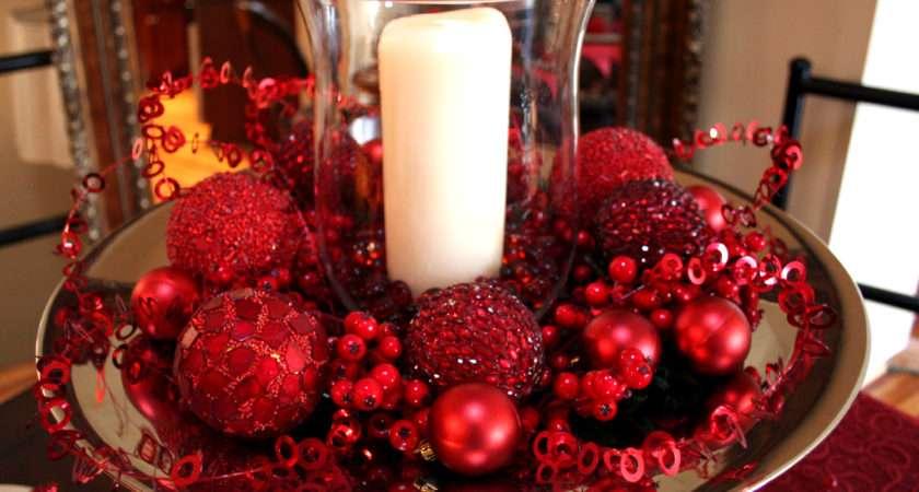 Christmas Decor Ideas Dining Room Table