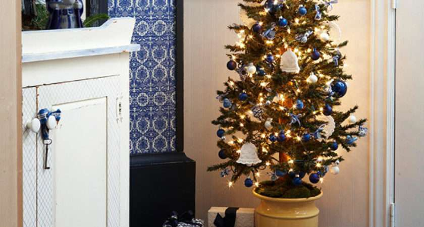 Christmas Decorating Ideas Small Spaces Modern