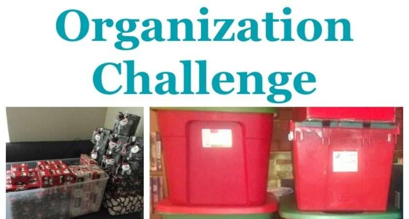 Christmas Decoration Storage Challenge Organizing Holiday