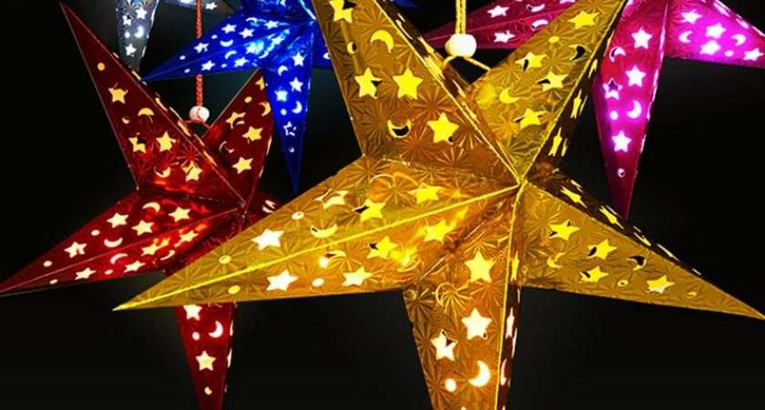 Christmas Decoration Tree Star Pentagram