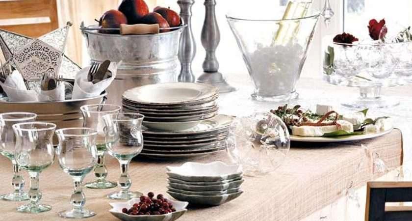 Christmas Dinner Table Decoration Ideas Freshome